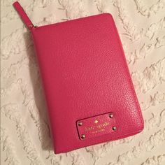 Kate Spade Wellesley Zip Around Organizer Caberet Pink leather. Light pink interior. Personal size. 2016 inserts. kate spade Other