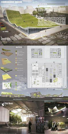 Architecture Layout Presentation  illustration Diseño Visual en la expresión del Proyecto Arquitectónico