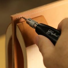 The Best Way to Sew Leather Is Actually By Hand! Here's How
