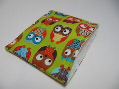 Reusable Snack Bag, Eco-Friendly Snack Bags, Owls Snack Bag, Back to School. $6.00, via Etsy.