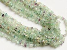 WHOLESALE 5 Strands Fluorite Chips Rainbow by gemsforjewels