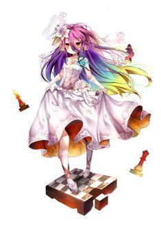 No game no life Shiro, Manga Anime, Anime Art, Game No Life, Animes Yandere, Happy Tree Friends, Fairy Tail Ships, Animation, Darling In The Franxx