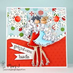 Girls just wanna have fun by maryj68 - Cards and Paper Crafts at Splitcoaststampers