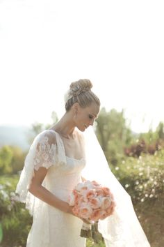Molly Sims + Scott Stuber's Wedding from Gia Canali: Part I | Style Me Pretty