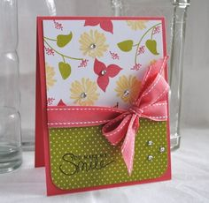 #papercraft #cards Floral Fusion, Signature Greetings