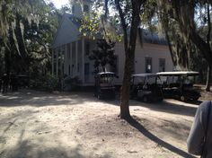 Going to church Daufuskie Island style... A short hop, skip, and a jump from Hilton Head