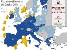 Ako sa rozširovala EÚ