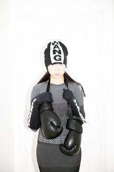 Susie Bubble wearing Alexander Wang for H&M #susielau #stylebubble