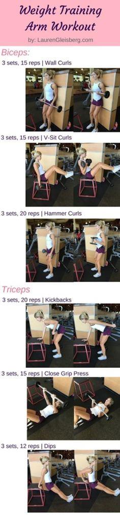 Biceps & Triceps (#LGKickStartFit Day 25) – 1/27 – Lauren Gleisberg