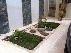 Finde minimalistischer Garten Designs in Grün von Constructora Asvial S.A de C.V.. Entdecke die schönsten Bilder zur Inspiration für die Gestaltung deines Traumhauses.