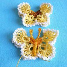 spring crafts: butterflies tablecloth tutorial   make handmade, crochet, craft