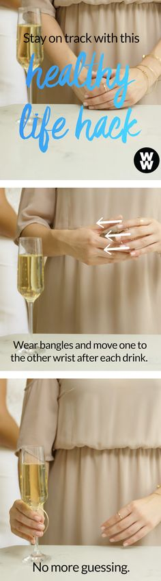 With this genius hack dress fittings, happy hours & celebrations will all be a breeze. Tap for cocktail recipe ideas to help you stay on track.