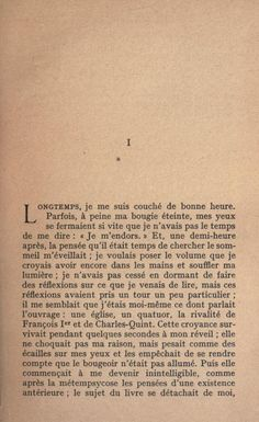 Scroll through the book: Du côté de chez Swann