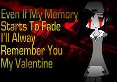 cute creepypasta  | Creepypasta: Happy 2013 Valentine from Lost Silver by IzayaAssassin