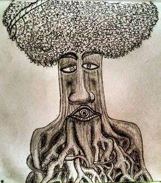 Joshua tree ... #love #wood #pencildrawing #sureal #roots #ja Pencil Drawings, Roots, Art, Art Background, Kunst, Performing Arts, Pencil Art, Art Education Resources, Artworks
