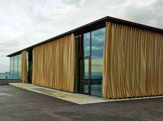 Pavillon auf dem Gurten bei Bern - Sonnenschutz - Sonderbauten - baunetzwissen.de