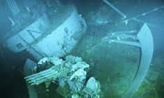 The wreckage of the World War II-era aircraft carrier USS Yorktown was uncovered by Ballard and his crew in 1998.
