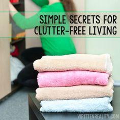 Simple Clutter-Free Secrets