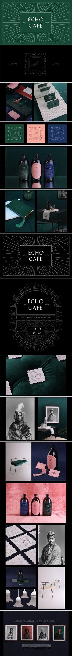 Echo Café branding and packaging by Eduan Viljoen