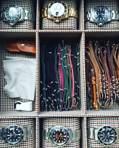 http://www.fashiontrendstoday.com/category/rolex/ The watch box. Leather straps from @jpmenicucci via @bulangandsons NATOs from Phoenix.
