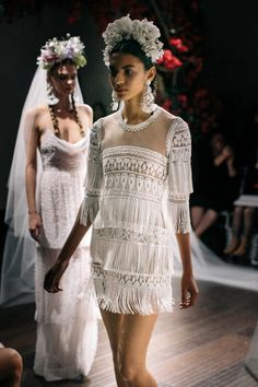 Naeem Khan Bridal Fall 2016 via theLANE