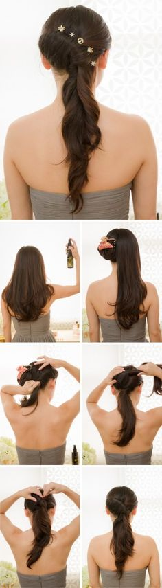 Tutorial on how to create the best bridesmaid hairstyle.  Inspired by L'Oreal Advanced Hairstyle