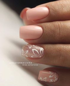 False nails have the advantage of offering a manicure worthy of the most advanced backstage and to hold longer than a simple nail polish. The problem is how to remove them without damaging your nails. Simple Wedding Nails, Wedding Nails Design, Simple Nails, Simple Elegant Nails, Elegant Nail Art, Trendy Wedding, Pink Wedding Nails, Plum Wedding, Rose Wedding