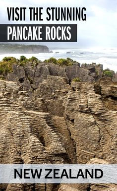 There are heaps of beautiful natural sites in New Zealand. Pancake Rocks on NZ's South Island is one worth visiting!