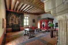 Le manoir du Clos-Lucé, appelé auparavant le château de Cloux, où résidèrent plusieurs rois et reines de France, dont François Ier qui y installa Léonard de Vinci.