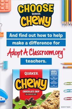 Know a teacher who could use some help? Learn how you can give back with Quaker Chewy. Goulash Recipes, Pork Recipes, Grilling Recipes, Chicken Recipes, Broccoli Recipes, Cauliflower Recipes, Missouri, Tapas, Homeschool Books