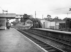 The Railway Station shortly before its closure in 1969