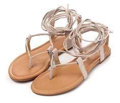 EILYKEN Roman Sandals - Cheap Surf Gear Roman Sandals, Flat Gladiator Sandals, Lace Up Sandals, Flip Flop Sandals, Strappy Sandals, Ankle Strap Heels, Suede Ankle Boots, Costume Blanc, Cheap Sandals
