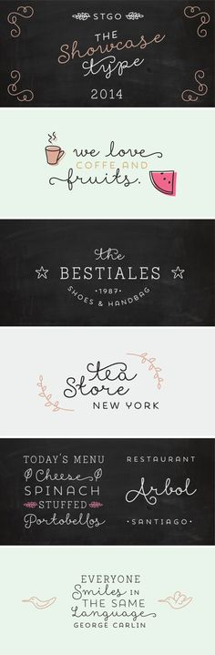 Showcase Font by Latinotype #ornaments #type #detail