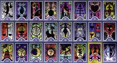 http://geekandsundry.com/how-to-read-your-geeky-new-tarot-deck/