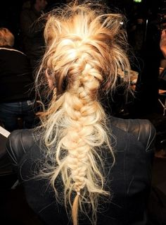 #hair messy #braid