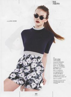 """MYKITA / Damir Doma """"DD02"""" featured in ELLE Netherlands May 2014"""