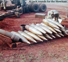 Big Bullets! - 1962 Unit Name: 7-11th Artillery,25th div  Firing the Howitzer was impressive.