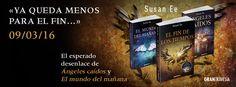 """""""El fin de los tiempos"""" de Susan Ee, World After, #ElFindelosTiempos #EndofTimes #SusanEe @Susan_Ee #literaturajuvenil #libros #YA #GTravesia"""