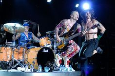 The Red Hot Chili Peppers Red Hot Chili Peppers at Grant Park in Chicago, Illinois on August 8, 2006.