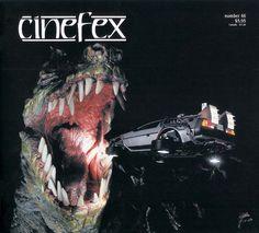 Cinefex 46 - Simulator Rides / Rick Baker Update / Godfather Trilogy