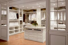 his and hers walk in closet design ideas - Google Search