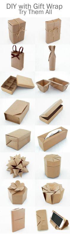 基本のラッピングから、ギフトボックス、便利雑貨まで、ラッピングペーパーで出来るDIY特集~全て作り方つき~