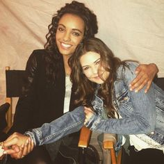 Danielle Campbell & Maisie Richardson-Sellers