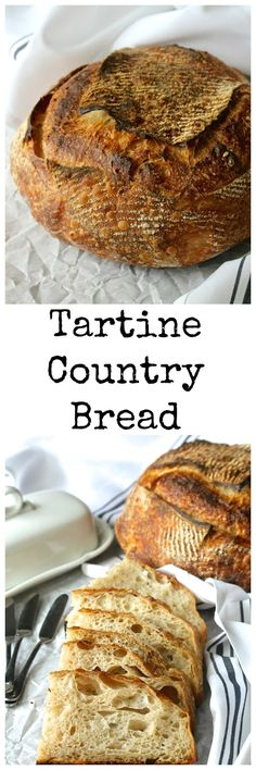 Tartine Country Bread is pretty much the holy grail of sourdough bread. It has been an inspiration for artisan bread bakers who work hard to make gorgeous loaves with an amazing flavor. Artisan Bread Recipes, Sourdough Recipes, Sourdough Bread, Wild Yeast Bread Recipe, Bakery Recipes, Cooking Recipes, Brunch Recipes, Artisan Boulanger, Pain Au Levain