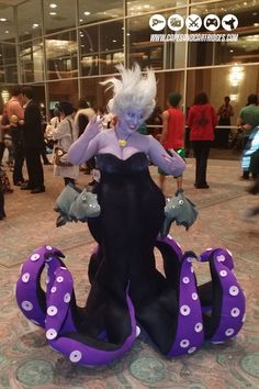 Ursula cosplay #acen2014 by capesandcartridges