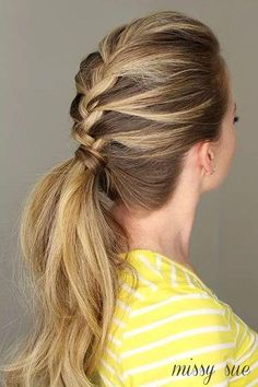Try This Pretty  Sophisticated French Fishtail Braid   Beautiful You     39 tolle lange Zopf Pferdeschwanz Frisuren  Franz    sische         Damen Haare