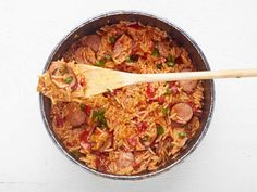 "Jambalaya is one of the most known Creole dishes with a beautiful mix of strong flavours and great textures. There are many versions about the origin of the name ""jambalaya"". The one commonly repeated is what this name derives from the combination of the French word  ""jambon"" meaning ham and an African word for rice (variously given …"