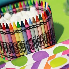 Crayon Bowl Craft: Turn a plain, inexpensive bowl into a colorful creation with this cool crayon craft. All you need is a bowl, crayons and a glue gun.