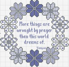 Pic ~ More Things are Wrought by Prayer than this World Dreams Of