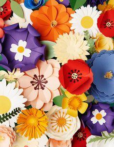 Ideas Diy Paper Sculpture Origami For 2019 Paper Flowers Diy, Flower Crafts, Diy Paper, Paper Crafting, Flower Art, Art Flowers, Real Flowers, Paper Art Design, Design Art